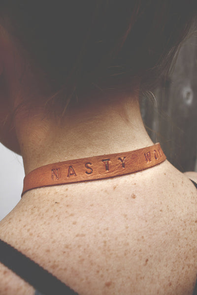 'nasty woman' choker