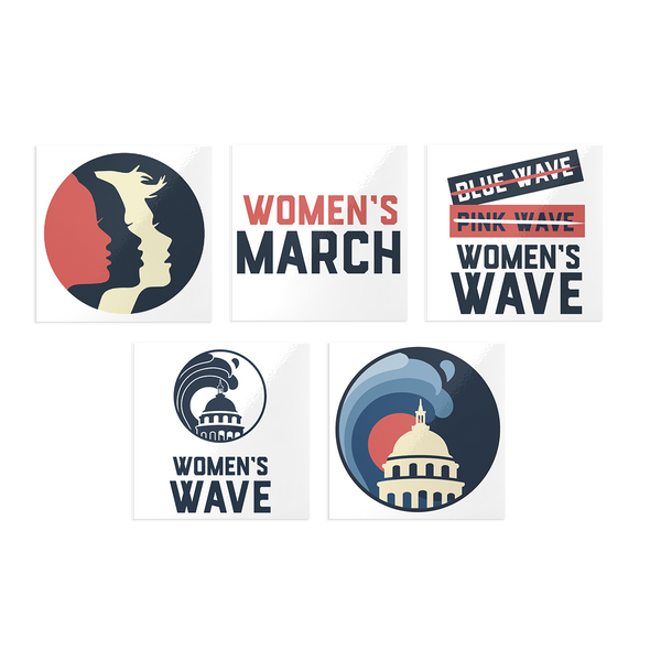 Women's March Temporary Tattoos