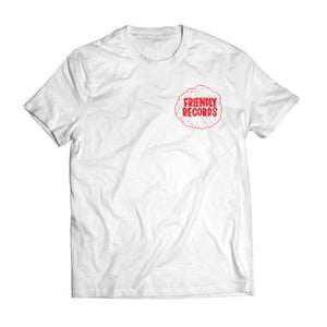 Friendly Records 'FriendlyFix' t-shirt