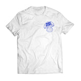 Friendly Records 'Shroom Smurf' t-shirt