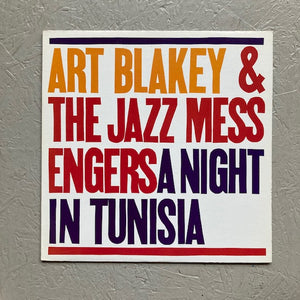 Art Blakey & The Jazz Messengers - A Night In Tunisia (used)