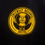 Friendly Records circle logo sweatshirt