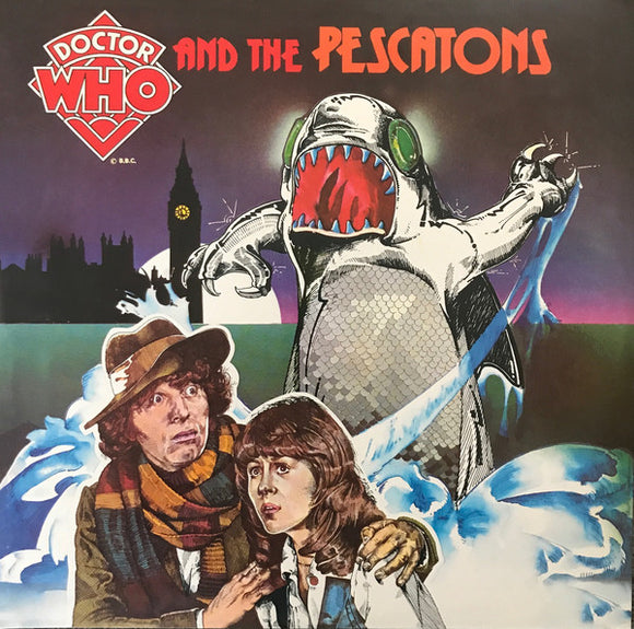 Tom Baker - Doctor Who and the Pescatons/Sound Effects