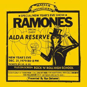 Ramones - Live At The Palladium, New York, NY (12/31/79)
