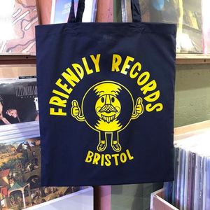 Friendly Records Alt Logo Tote Bag