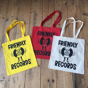 Friendly Records Tote Bag