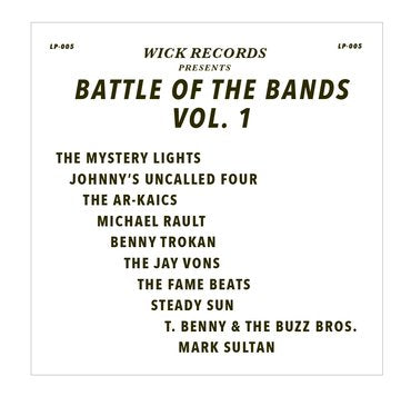 Wick Records: Battle of the Bands Vol 1 (Grey Marbled Vinyl)
