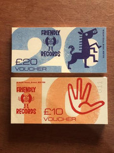 Friendly Records gift voucher