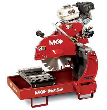 MK-2005H Gas Engine Brick Saw with Honda GX160 Engine
