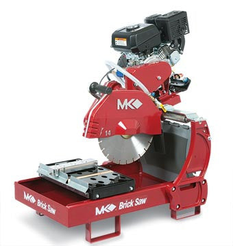 MK-2007K Gas Engine Brick Saw with Kohler CH270 Engine
