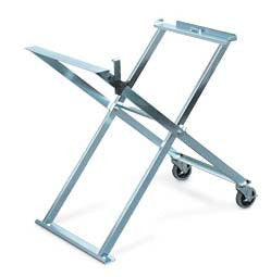 Folding Saw Stand with Casters (traditional saw frames)