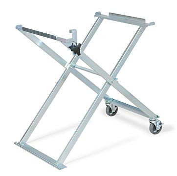 Folding Saw Stand with Casters (tube saw frames)