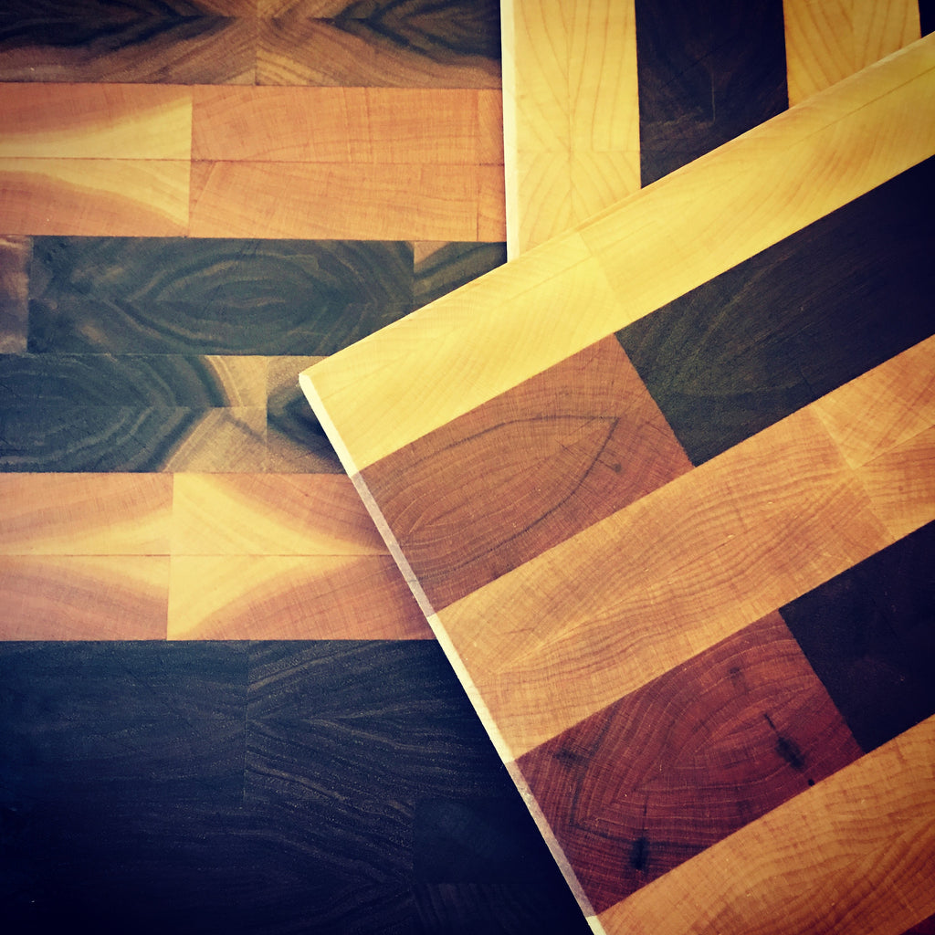 End Grain Cutting Board Finishes