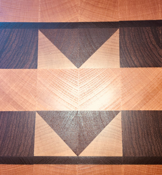 """A Different Angle"" End Grain Cutting Board. (#140)"