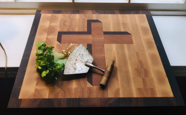 "3D Prodigal Signature ""Cross"" Cutting Board (#154)"