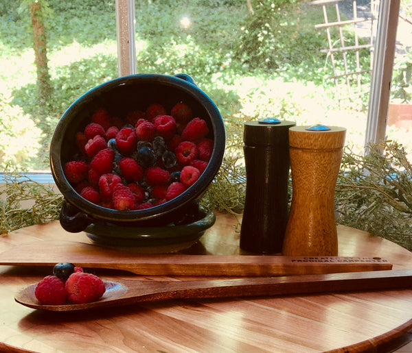 "Cherry Lazy Susan,  16""diameter"