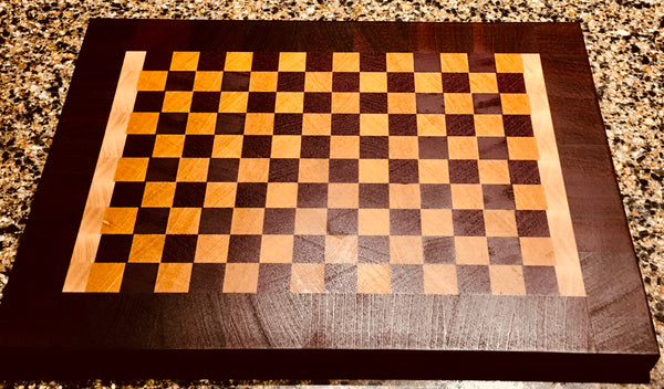"""Tavern Check"" End Grain Cutting Board (#97)"