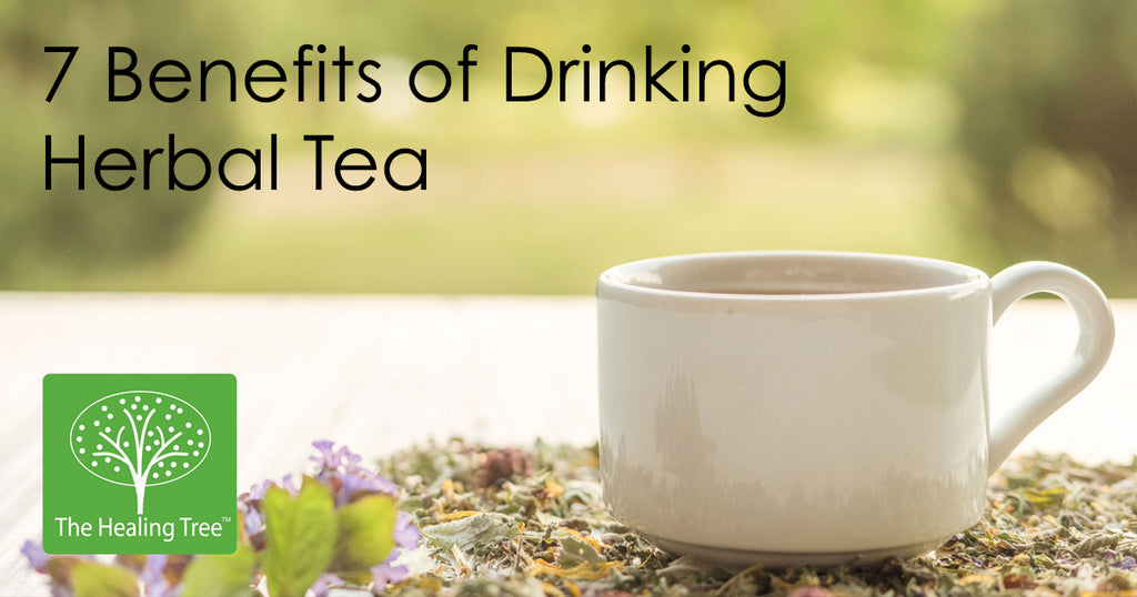 7 Benefits of Drinking Herbal Tea