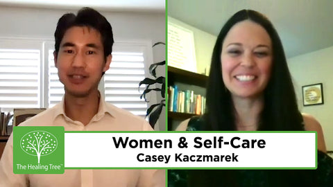 women and self care Casey Kaczmarek