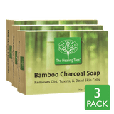 Bamboo Charcoal Soap 3-Pack