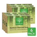 Bamboo Charcoal Soap 6-Pack