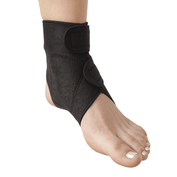 Self-Heating Ankle Support | Magnets & Tourmaline | Adjustable Fit