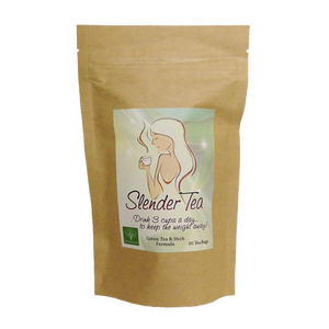 Slender Tea for Natural Weight Loss | 20 Tea Bags