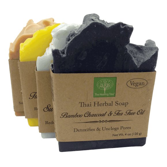 Vegan Handmade Soap | Variety 4-Pack