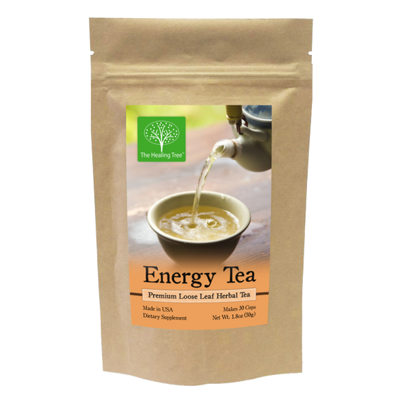 Energy Herbal Tea for Natural Energy | Made in USA