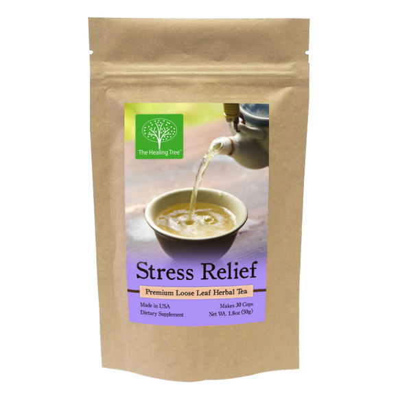 Stress Relief Herbal Tea for Lower Stress & Anxiety | Made in USA