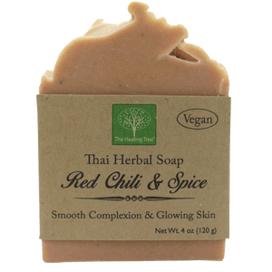 Vegan Handmade Soap | Red Chili & Spice for Smooth Skin