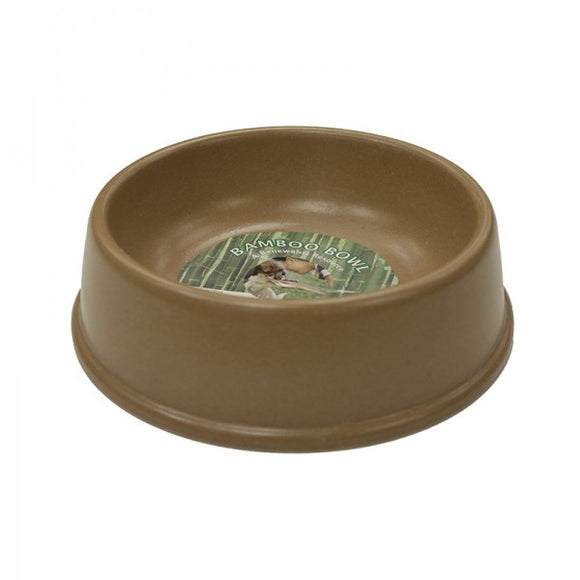Bamboo Dog Bowl | Non-Toxic | Biodegradable | Eco-Friendly | 2 Sizes