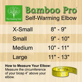 Self-Warming Elbow Support | Bamboo Charcoal Technology