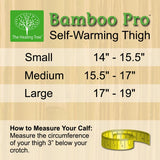 Self-Warming Thigh Sleeve | Bamboo Charcoal Technology