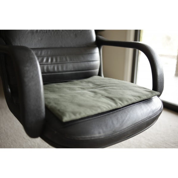Total Relaxation Seat Mat | Activates with Your Body Heat | No-Plug In