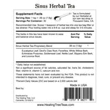 Sinus Ease Herbal Tea for Respiratory Comfort & Support | Made in USA