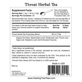 Throat Herbal Tea for Soothing Throat Care | Made in USA