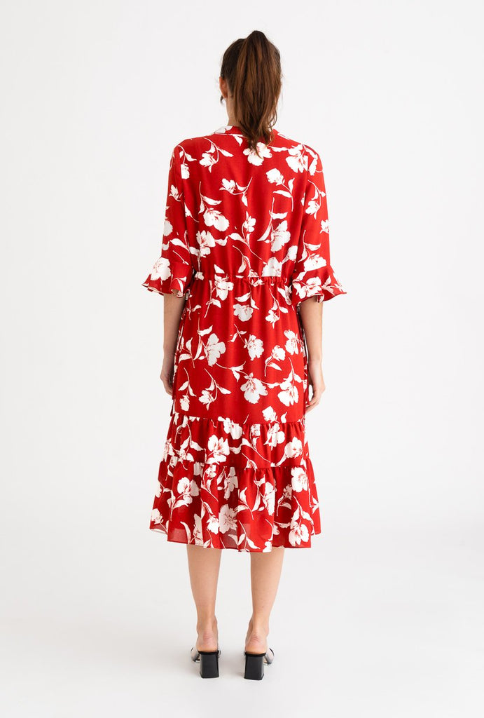 Petite Studio Celina Dress Red - Room 29