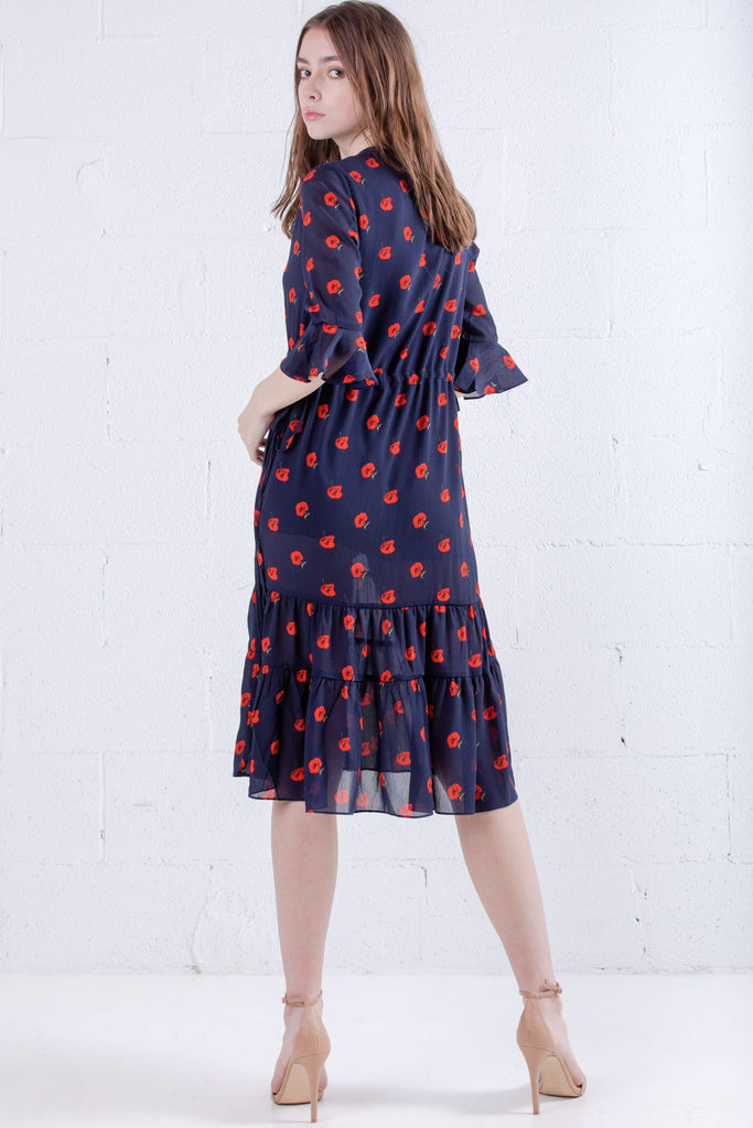 Petite Studio Celina Dress Cherry Print - Room 29