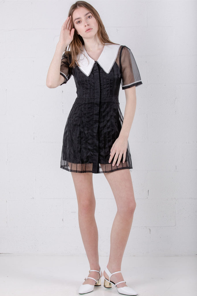 June Eleven Dark Delight Dress Black JE16-1659 - Room 29