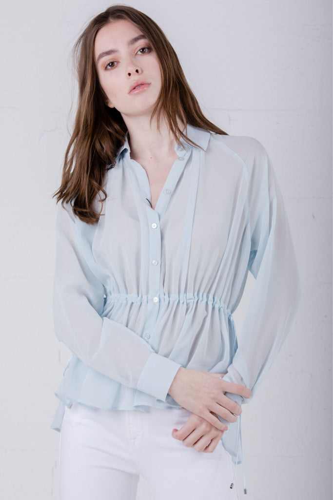 Maxmara Oxria Shirt Blue - Room 29