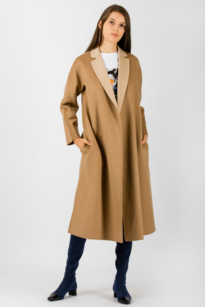 MaxMara Studio Notizia Coat Camel - Room 29