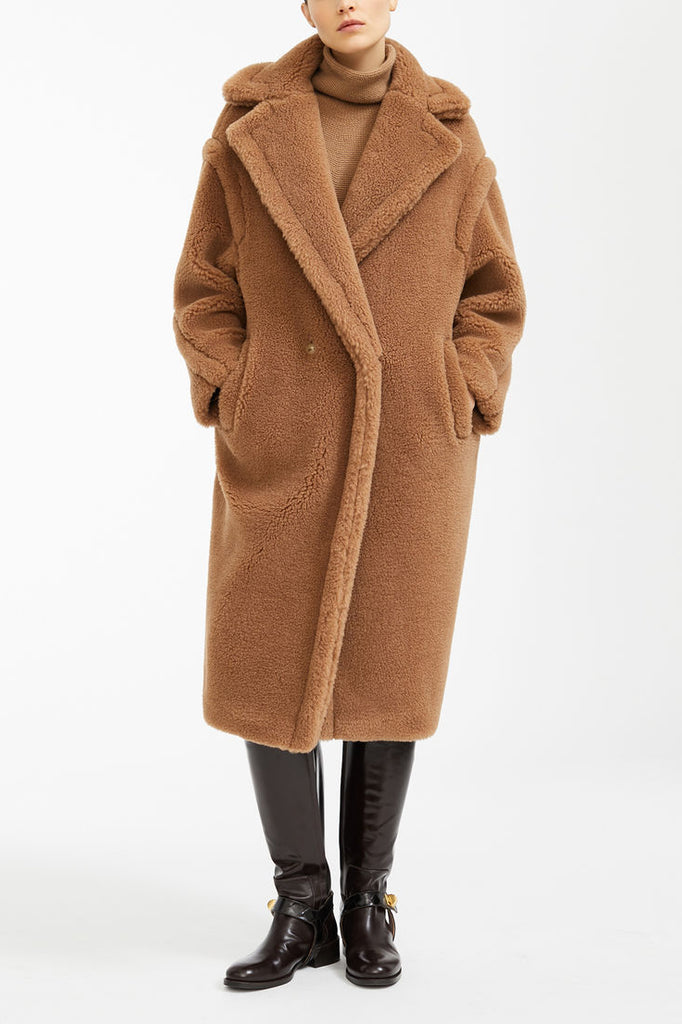 Maxmara 101611 TEDDY Coat Camel - Room 29