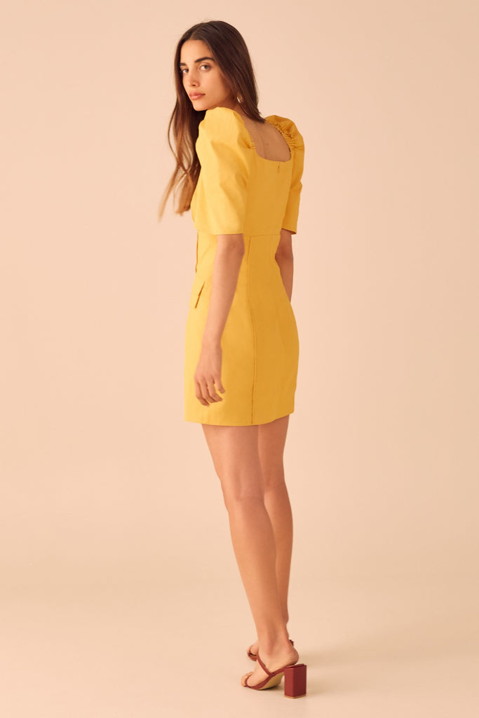 C/meo Collective Subscribe Dress Marigold - Room 29