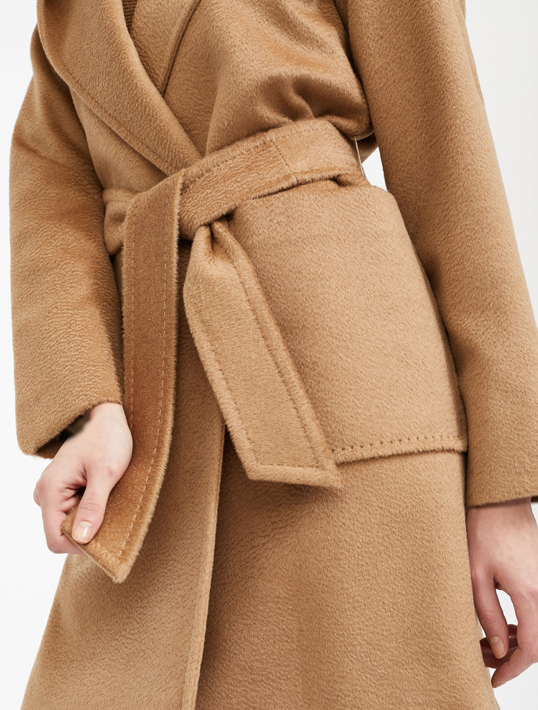 Maxmara 108603 3RIALTO Short Coat Camel - Room 29