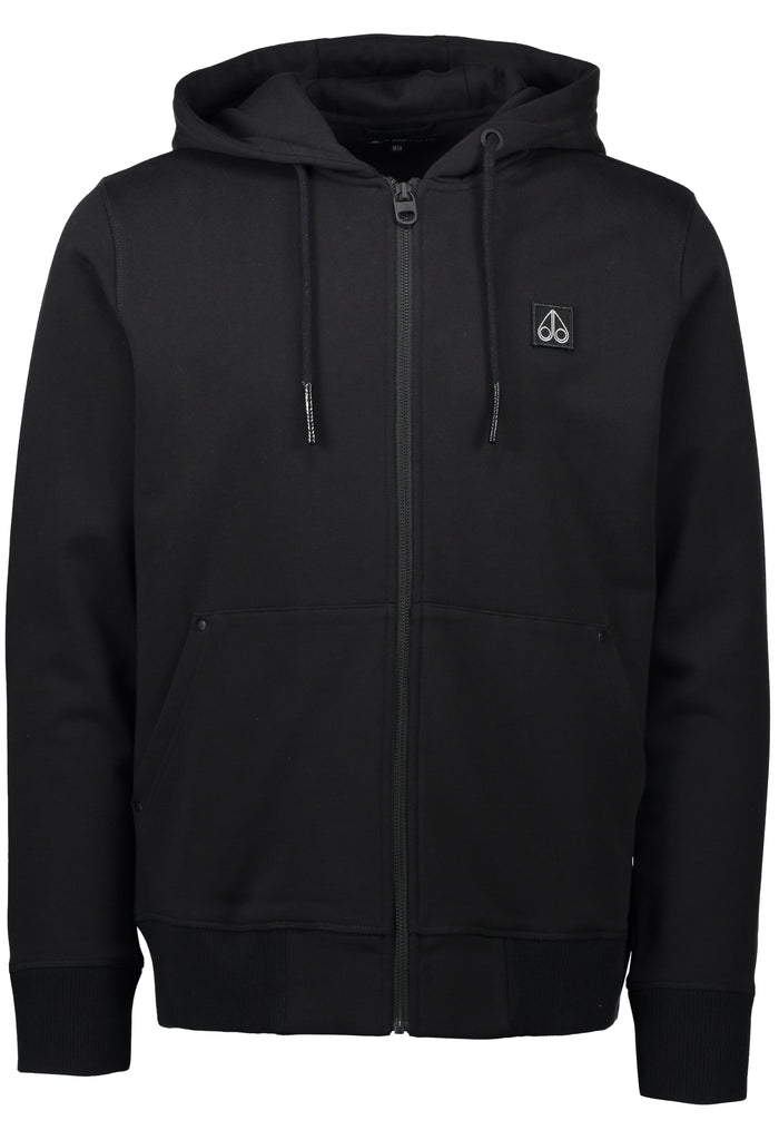 Moose Knuckle North Arm Hoodie Black - Room 29