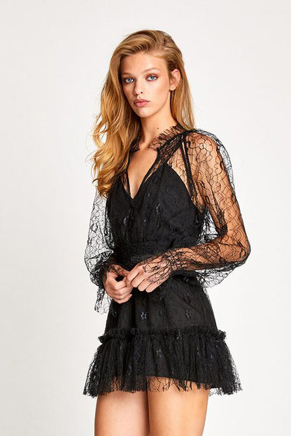 Alice McCall After Dark Playsuit Black