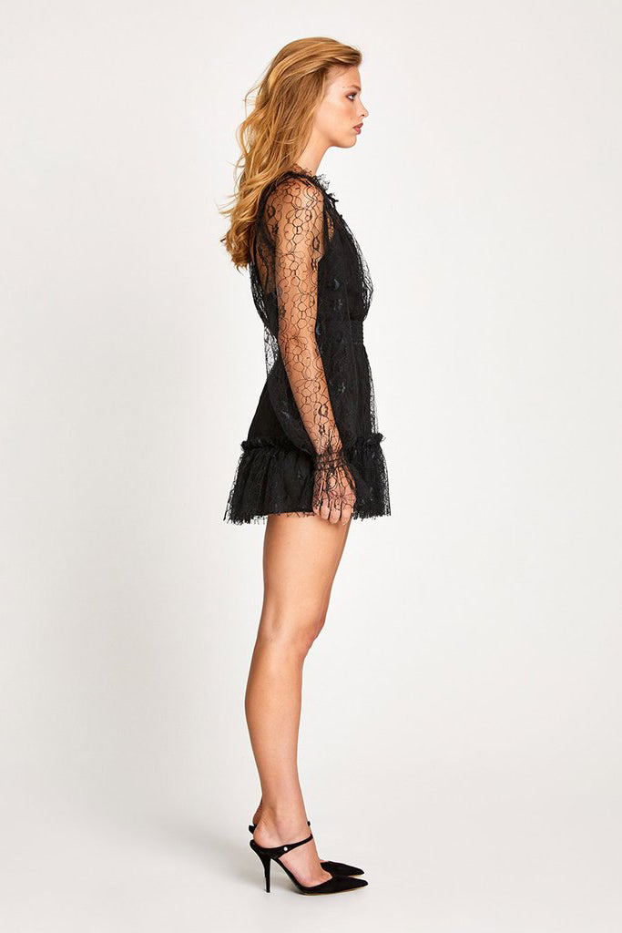 Alice McCall After Dark Playsuit Black - Room 29