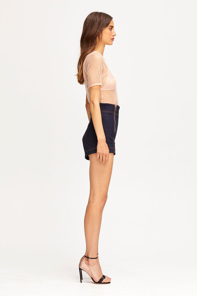 Alice McCall Bloomsbury Shorts Indigo - Room 29