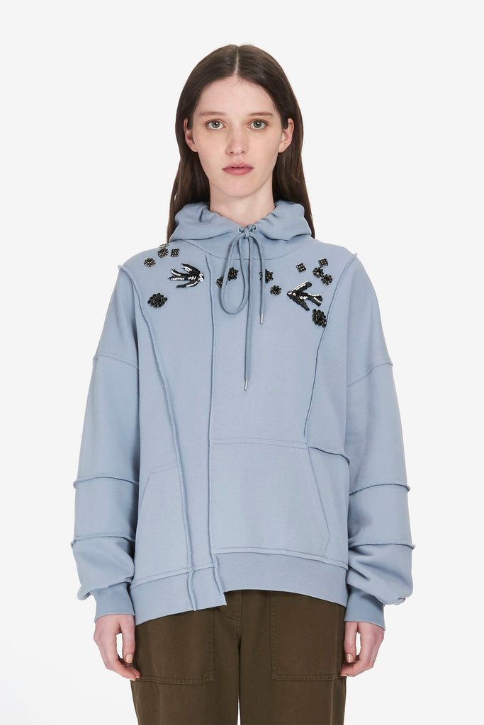 MCQ Hoodie Diamante Swallow - Room 29
